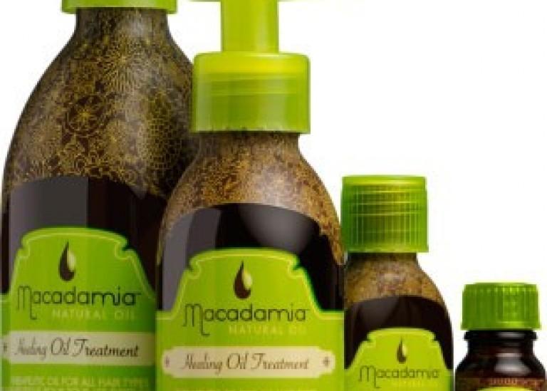 Косметика для волос с маслом макадамии