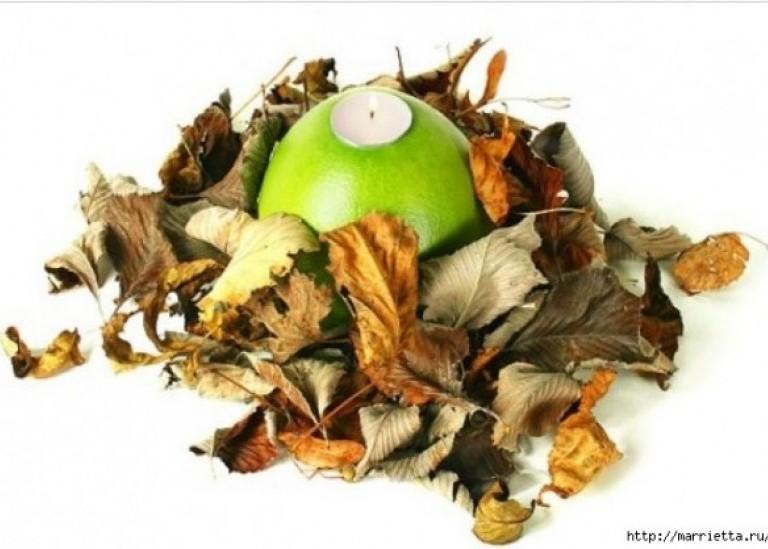 Создаем свечи с использованием пищевых продуктов и природных материалов