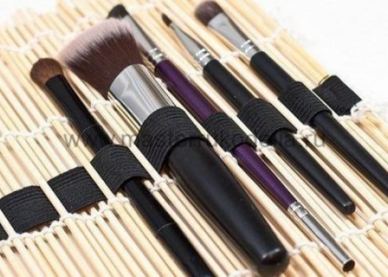Как сделать органайзер для Make-Up кисточек своими руками