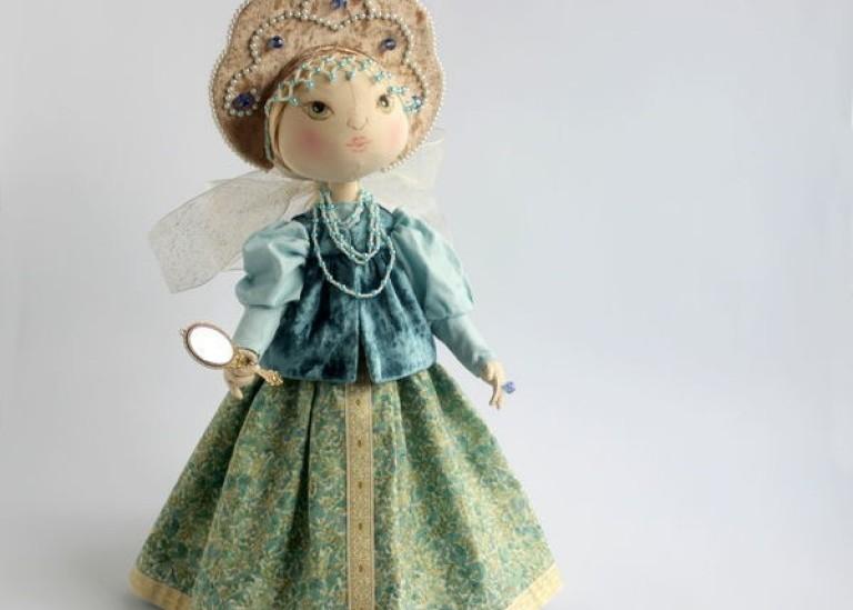 Шьем текстильную куклу Алёнушку