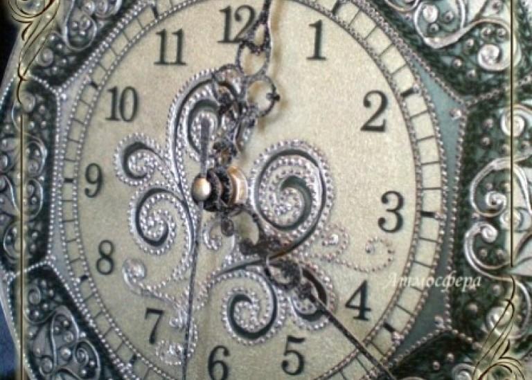 Прямой и обратный декупаж в проекте «Часы»