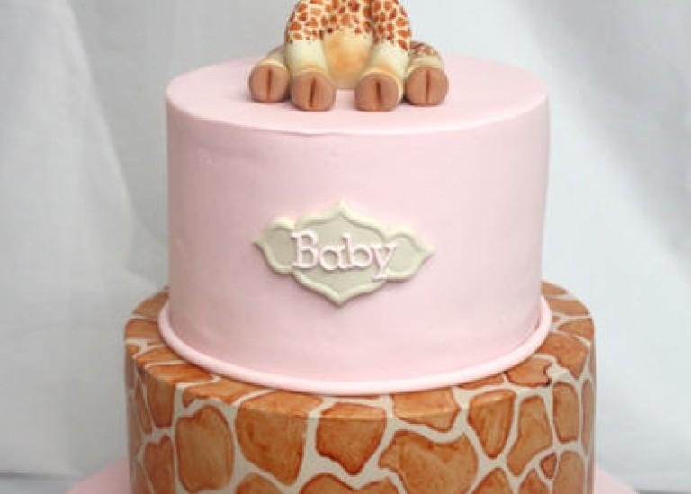 Лепка для торта. Жираф