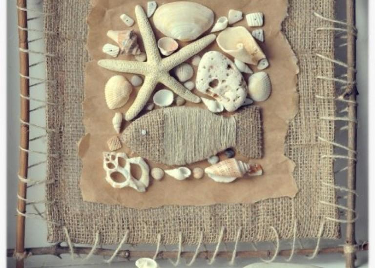 Декор на стену в морском стиле