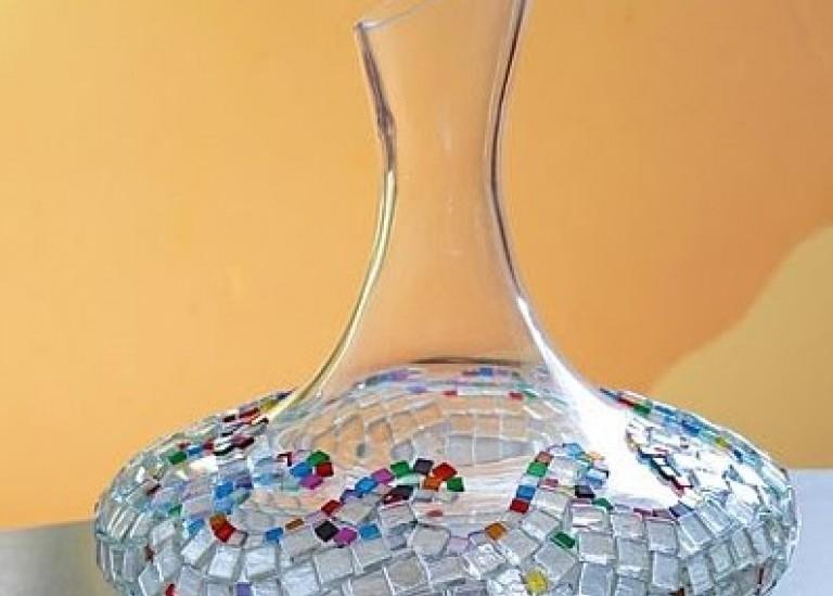 Мозаика своими руками: Декоративная ваза с мозаикой