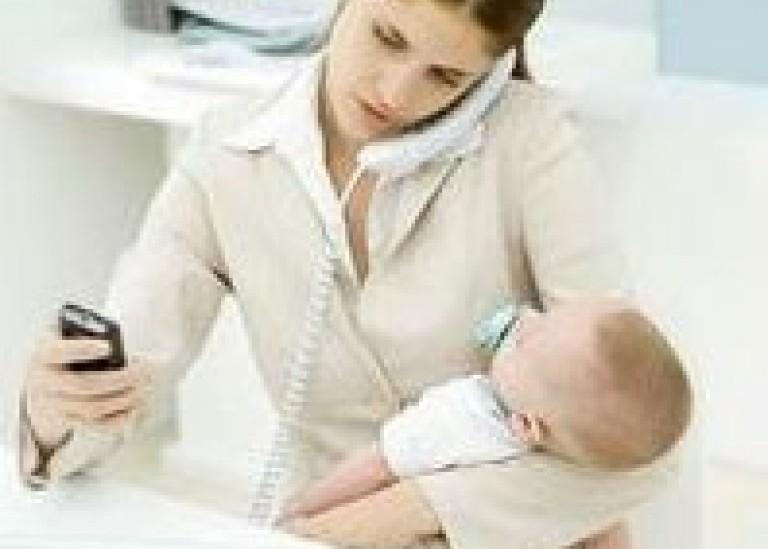 Как совместить карьеру с материнством