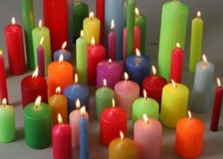 Что обозначает цвет свечи?