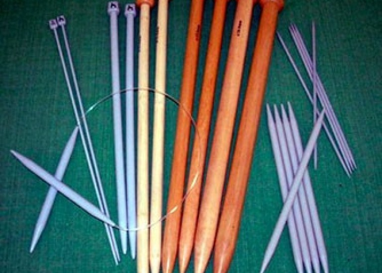 Как выбрать спицы для вязания?