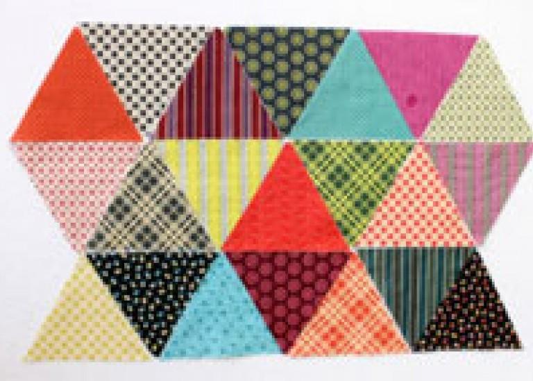 О треугольниках в пэчворке