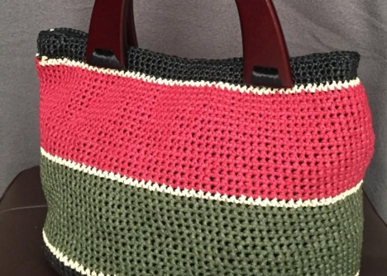 Мастер-класс: сумочка из рафии