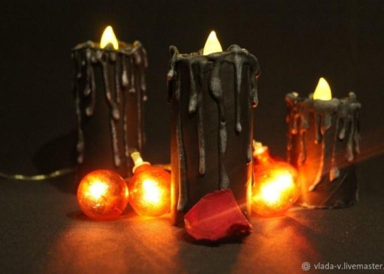 Создаём «вечные» свечи для декора