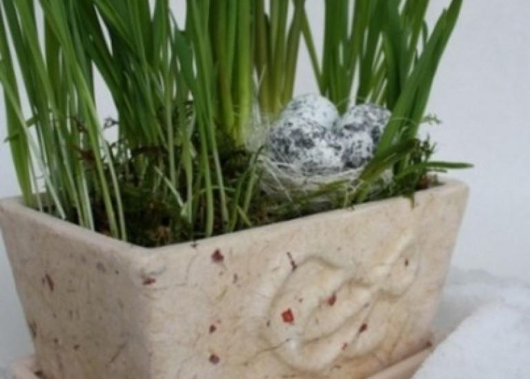 Декорирование цветочных горшков. Идеи и МК