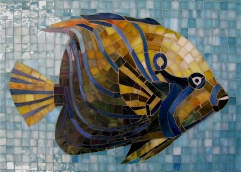 Мозаика «Рыбка»