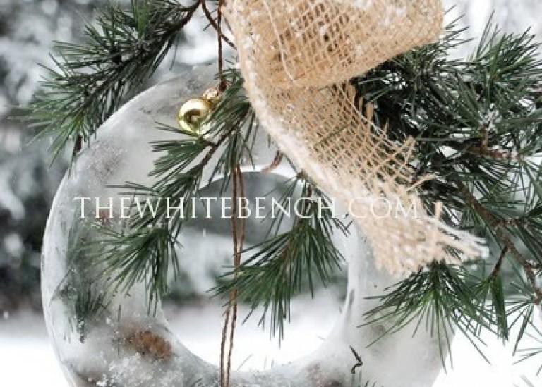 Ледяные венки к Новому году