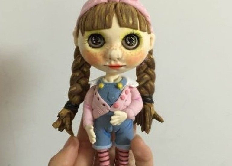 Куколка Блайз своими руками из полимерной глины